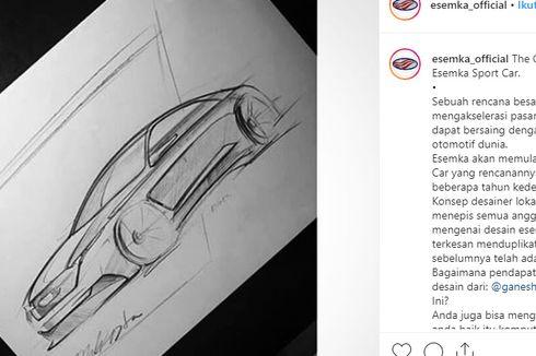 Sketsa Sedan Sport Esemka Bernama Concept FG-9