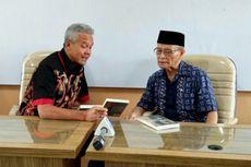 Silaturahim dengan Buya Syafii, Ganjar Pranowo Diskusi soal Pertanian dan Nasib Rakyat
