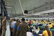 Industri Garmen di KBN Cakung Disegel karena Beroperasi Saat PSBB