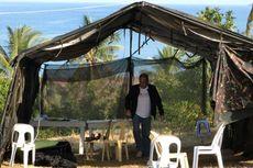 Presiden Filipina Tidur di Tenda Pengungsi Korban Gempa