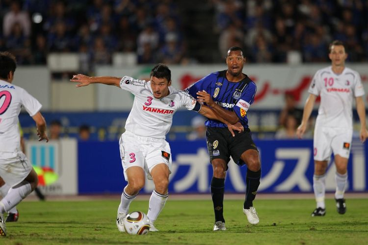 Salah satu laga derbi di J.League