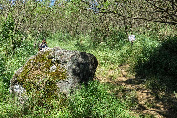 Kawasan Pos III Batu Tulis Gunung Sindoro via Tambi.