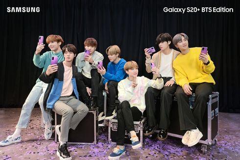 Galaxy S20 Plus dan Buds Plus Edisi BTS Sudah Bisa Dipesan, Ini Harganya