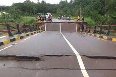 Jembatan Ambruk, Jalan Trans-Kalimantan Sampit ke Pangkalan Bun Putus