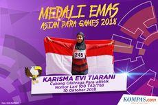 Karisma Evi Tiarani, Pelari Para Atletik Indonesia Cetak Rekor Dunia