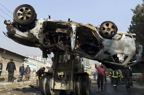 Bom Meledak di Afghanistan, 11 Orang Termasuk Anak-anak Tewas