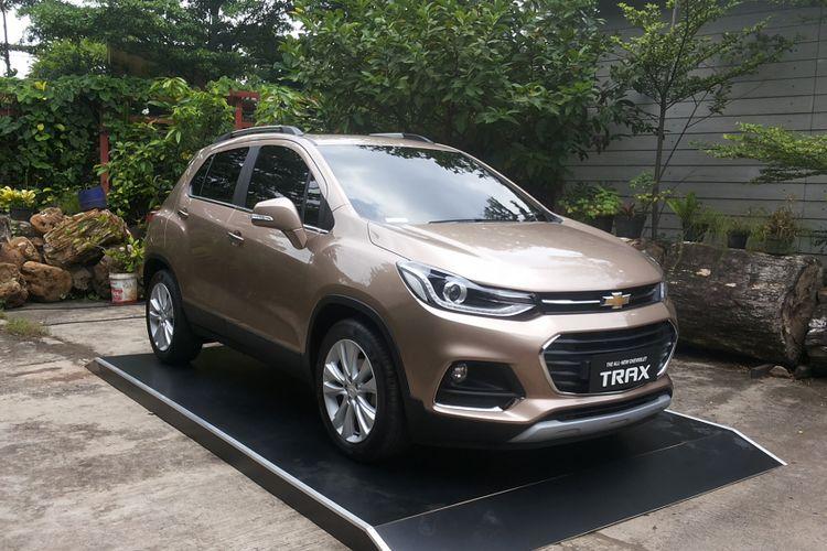 Chevrolet Trax Coopertino yang diluncurkan di Jakarta pada Kamis (1/3/2018).