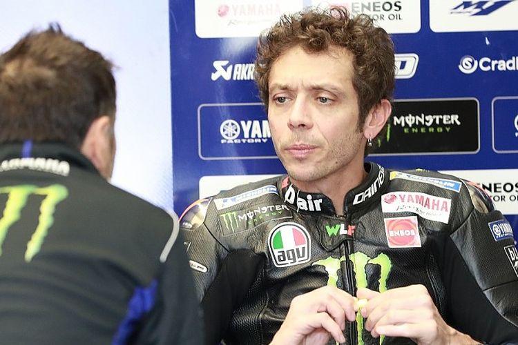 Pebalap tim Monster Energy Yamaha MotoGP, Valentino Rossi.