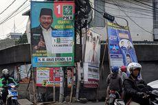 Hari Kedua Minggu Tenang, Sejumlah APK Masih Terpasang di Jakarta Barat