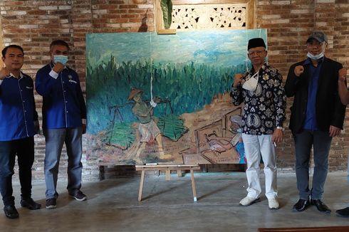 Buruh Rokok Bergerak ke Istana, Protes Cukai Naik dan Serahkan Lukisan ke Jokowi