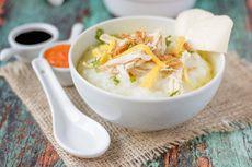 Resep Bubur Ayam Sederhana buat Sarapan, Bisa Bikin Pakai Nasi