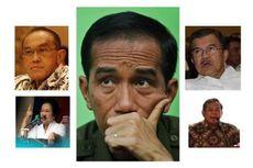 Survei Kompas, jika Jokowi Dipasangkan dengan Mega, JK, Prabowo, dan Ical...