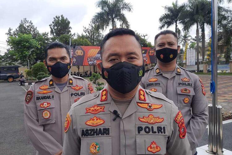 Kepala Polresta Tasikmalaya AKBP Aszhari Kurniawan.