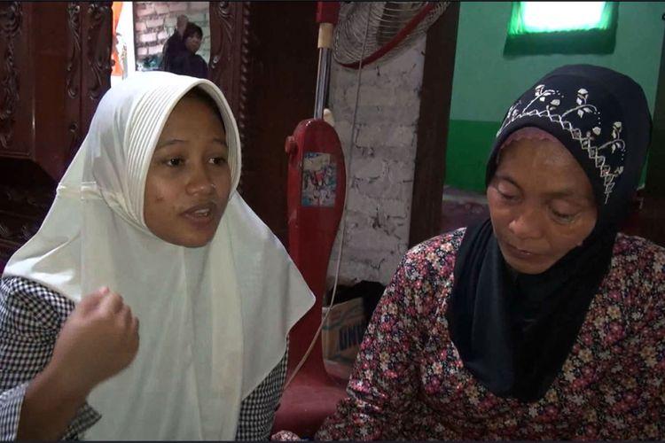 Sianit Shinta, isteri guru korban penganiayaan oleh muridnya, menceritakan sosok suaminya sebelum meninggal dunia.