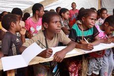 Konflik Bersenjata, Pendidikan 700-an Anak Pengungsi Nduga di Papua Terbengkalai