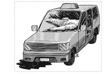 Suami Istri Ditemukan Tewas Membusuk di Dalam Mobil