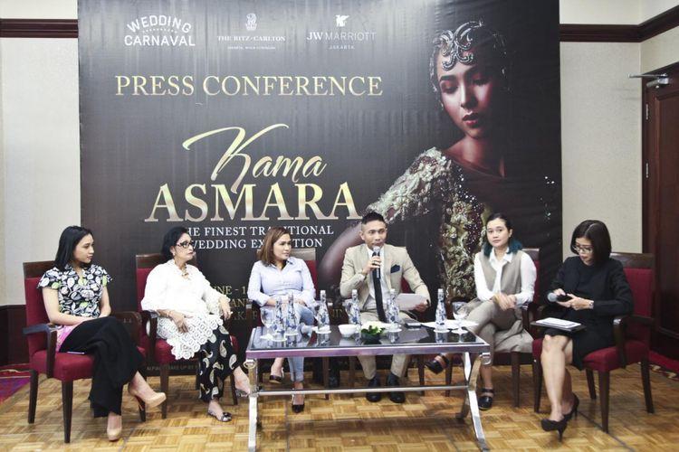 Konferensi pers pameran pernikahan tradisional Kama Asmara, The Ritz-Carlton Jakarta, Mega Kuningan.