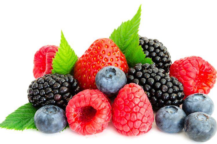 Ilustrasi buah berry