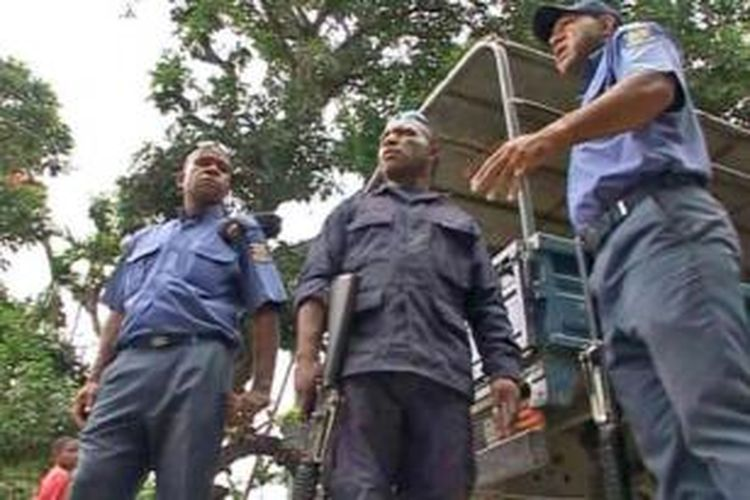 Kepolisian Papua Niugini.