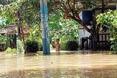 Efek Cuaca Buruk, 300 Rumah Terendam Banjir di Sukaresik Tasikmalaya