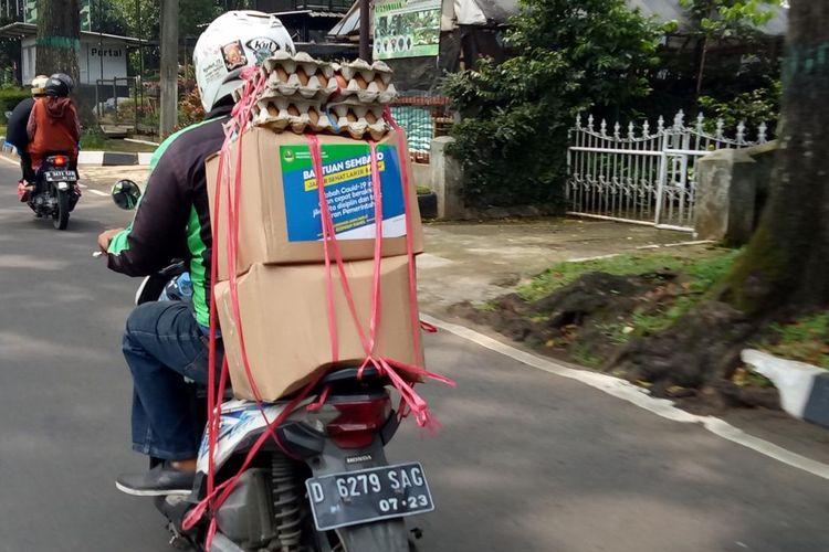 Gandeng Ojek Online dan PT Pos Indonesia, Pemprov Jabar Genjot Penyaluran Bansos