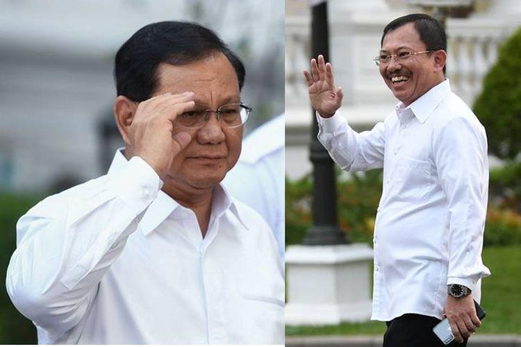 Prabowo Subianto dan Terawan Agus Putranto