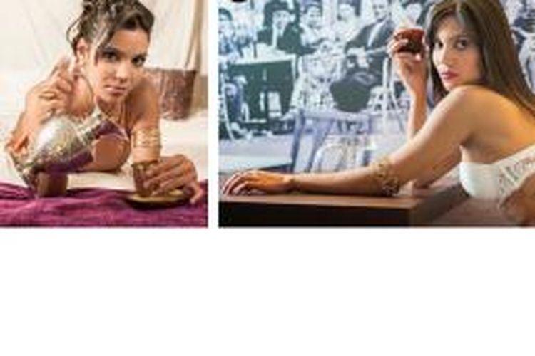 Model asal Brasil, Aline Brum, yang menjadi kekasih baru Javi Martinez.