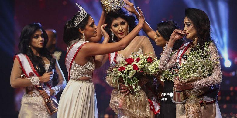 Mrs World yang Copot Paksa Mahkota Ratu Kecantikan Mrs Sri Lanka Ditangkap