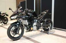 Wujud Prototipe Motor Sport Hibrida Kawasaki