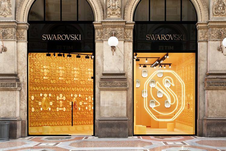 Logo baru Swarovski