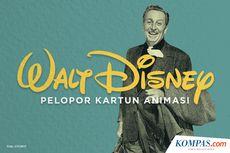 INFOGRAFIK: Walt Disney, Pelopor Kartun Animasi