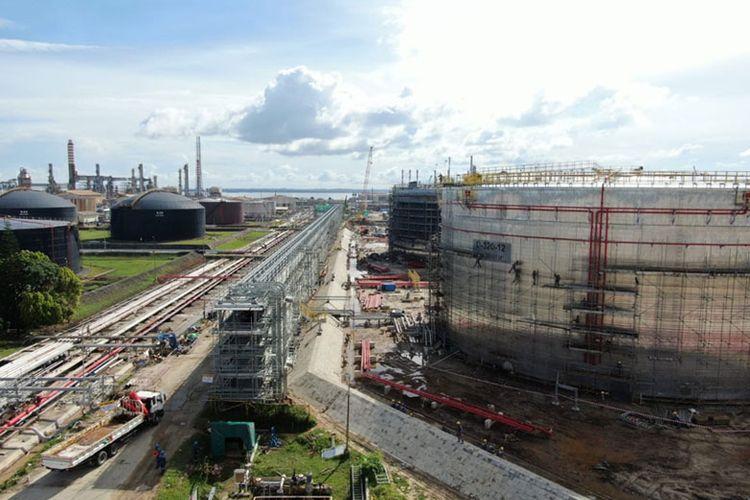 Proyek Refinery Development Master Plant (RDMP) Balikpapan.