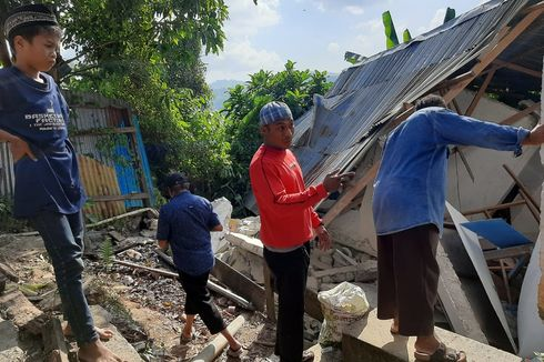 Gempa Magnitudo 4,5 Guncang Ambon, Rumah Anggota Polisi Roboh