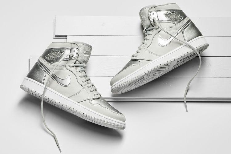 Air Jordan 1 CO.JP Metallic Silver