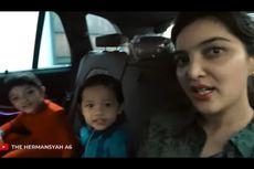 Reaksi Terkejut Ashanty Saat Arsy Injak Jok BMW Barunya