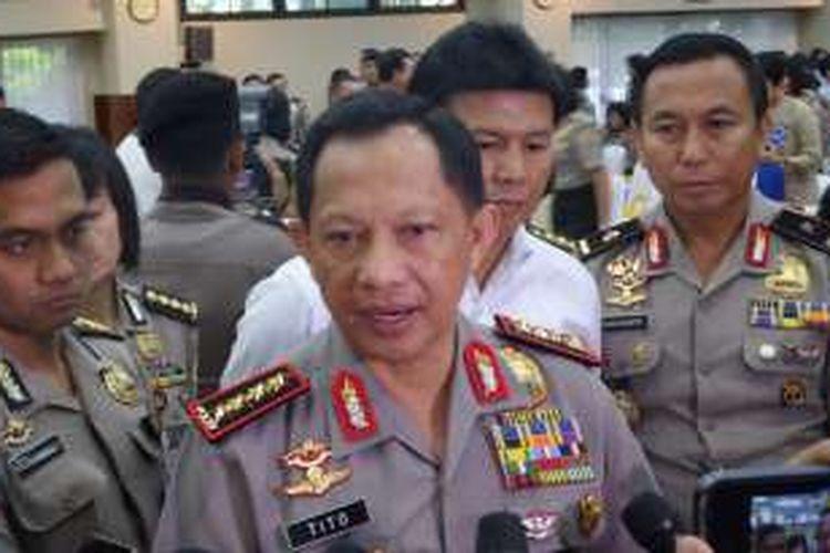 Kapolri Jenderal Pol Tito Karnavian