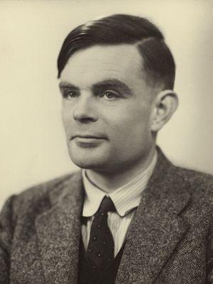 Ilustrasi Alan Turing