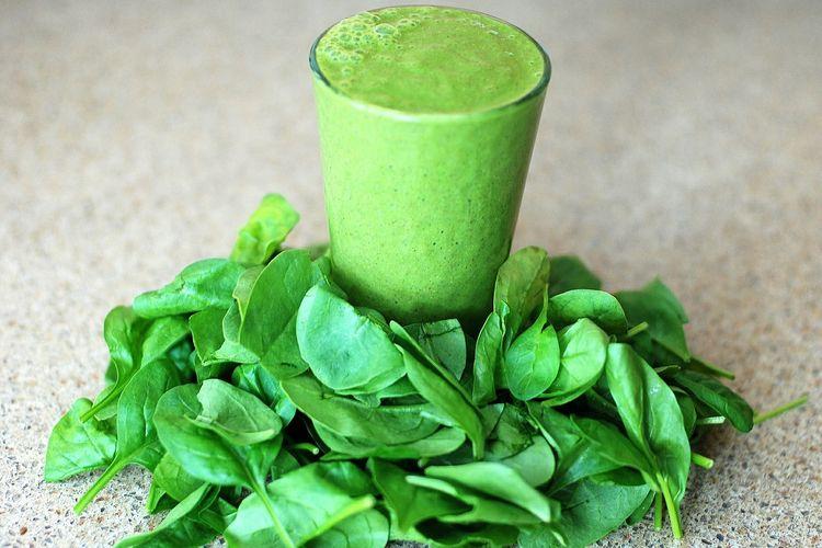 Ilustrasi green smoothie