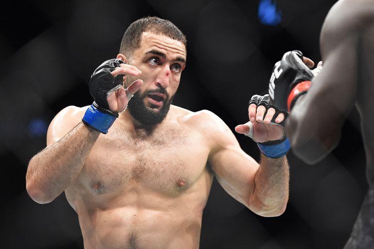 Petarung UFC Amerika Serikat berdarah Palestina, Belal Muhammad.