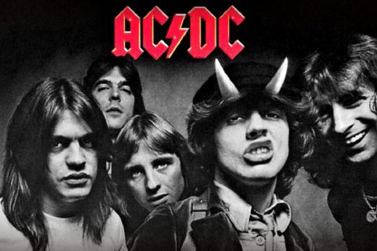Foto grup band AC/DC