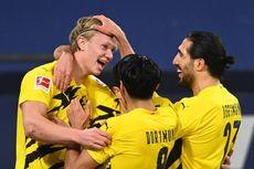 Hasil Bundesliga - Haaland Cetak Gol Akrobatik, Dortmund Menang