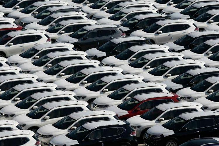 Ilustrasi penjualan mobil.