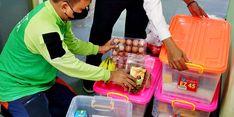 Dompet Dhuafa Antar Paket Makanan Bergizi untuk Pasien Covid-19 Isoman