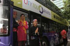 Bus Tingkat Hijau-Ungu Ikon Baru Kota Jakarta