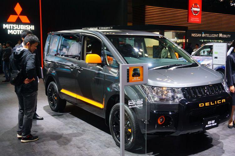 Mitsubishi mengenalkan tiga model baru dengan sentuhan aksesori petualangan dalam seri Active Gear.