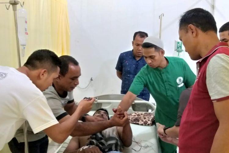 Warga Aceh Jaya diterkam buaya