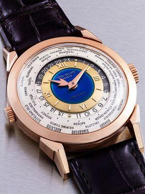 Arloji Patek Philippe yang akan dilelang di Hong Kong. Harganya ditaksir lebih dari Rp 196 miliar.