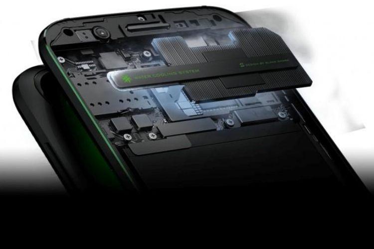 Sistem pendingin di ponsel gaming Xiaomi Black Shark.