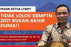 Gagal SBMPTN 2021? Berikut Tips Anti Galau ala Ketua LTMPT