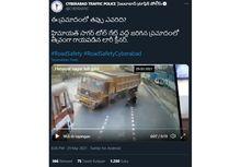 Video Viral Dua Truk di India